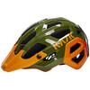 Kask Rex Cykelhjälm orange/oliv